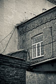 Free Old Building View Royalty Free Stock Photo - 15906295