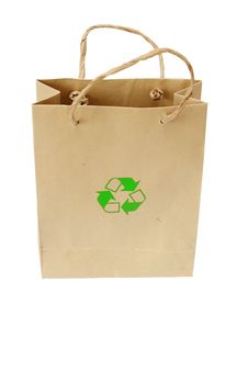 Free Recycle Bag Stock Photography - 15906372