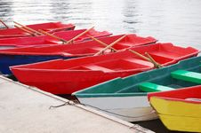 Free Many Colorful Boats Stock Image - 15906761