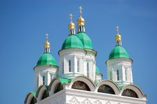 Free Cupolas Of Church In Russia Stock Images - 15906794