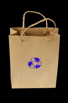 Free Recycle Bag Stock Photography - 15907072