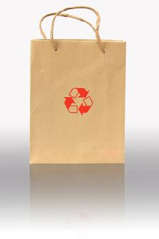 Free Recycle Bag Stock Images - 15907364