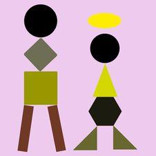 Free Geometric Basic Royalty Free Stock Photo - 15907795
