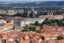 Free Panorama Of Prague Royalty Free Stock Photo - 15908065