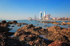 Qingdao City Stock Photography