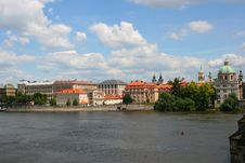 Free Panorama Of Prague Royalty Free Stock Image - 15908136