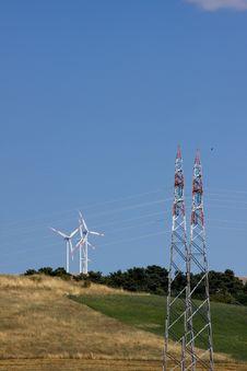 Eolic Energy Royalty Free Stock Image