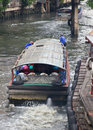Free The Boat On Sansab Canal In Bangkok Stock Photography - 15914902