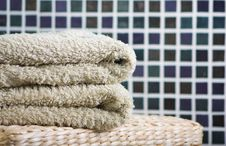 Free Towel Stack Stock Photos - 15910263