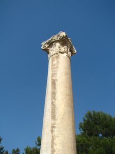 Free Ephesus Column Royalty Free Stock Photography - 15911007