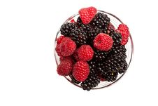 Free Composition Of Black And Red Raspberries Stock Photos - 15911033