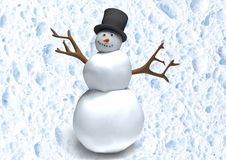 Free Cartoon Snowman Stock Photos - 15911603