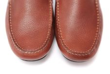 Free Brown Leather Shoes Royalty Free Stock Photo - 15911655