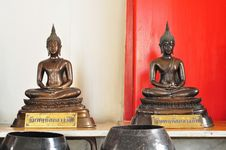 Free Twin Buddha Royalty Free Stock Photos - 15912718