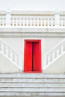 Free Red Door Stock Images - 15912844