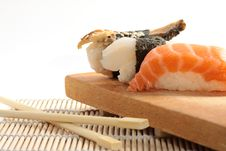 Free Sushi Different Types Stock Image - 15912991