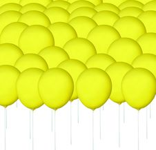 Free Yellow Balloon Stock Photos - 15913523