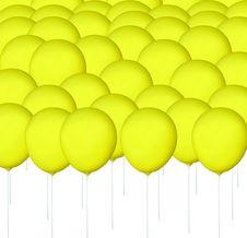 Free Yellow Balloon Stock Photos - 15913523