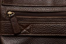 Free Natural Qualitative Brown Leather Royalty Free Stock Photography - 15913757