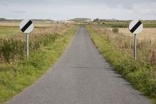 Free Empty Rural Road Stock Photos - 15913953