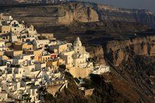 Free Fira, City In Greece Island Santorini Stock Photos - 15914813