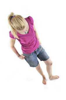 Free Young Blond Girl Stock Photos - 15914883