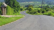 Free Road In A Hill Royalty Free Stock Images - 15914929