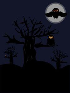 Free Night Scenery Royalty Free Stock Image - 15917296