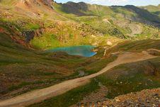 Free Mountain Lake In Telluride, Colorado Stock Photo - 15918190