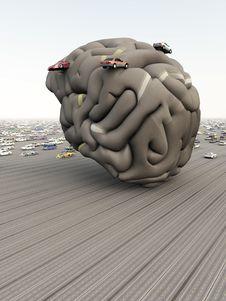 Free Car Brain Royalty Free Stock Photos - 15918438