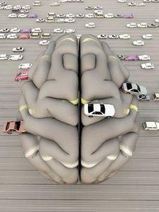 Free Car Brain Stock Images - 15918444