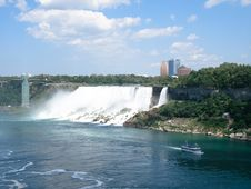 Niagara Falls Morning Royalty Free Stock Photos