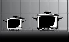 Free Series Of Images Of Kitchen Ware Royalty Free Stock Image - 15919676