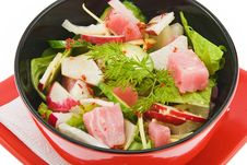 Free Salad With Tunny 2 Royalty Free Stock Image - 15919756