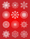 Free Snowflake Set Stock Photography - 15920002