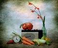 Free Still Life And Radio Stock Photography - 15923612