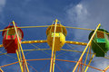 Free Attraction (Carousel) Ferris Wheel Royalty Free Stock Image - 15928056