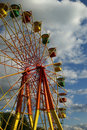 Free Attraction (Carousel) Ferris Wheel Royalty Free Stock Image - 15928336