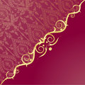 Free Gold Frame In Vintage Style Stock Photography - 15929112
