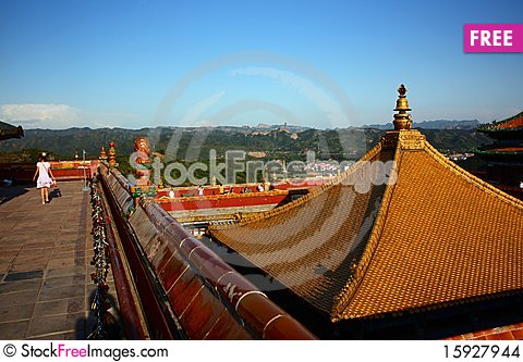Free Golden Roof Stock Images - 15927944