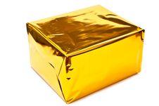Free Golden Gift Box Royalty Free Stock Photo - 15920285