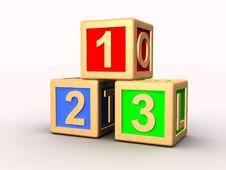 Free Learning Blocks Royalty Free Stock Photography - 15921827