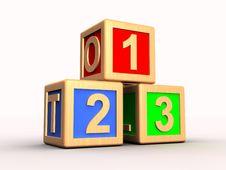 Free Learning Blocks Stock Photography - 15921832