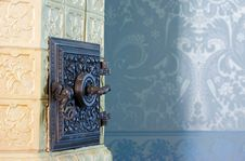 Free Antique Tile Stove Stock Photos - 15921943