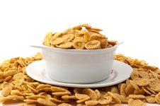 Free Flakes In The Bowl Stock Photography - 15922172