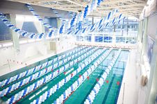 Free Opening Of A Swimmingpool Stock Photos - 15922403