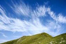 Free Mountain And Clouds Stock Photos - 15923573