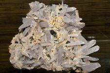 Free Quartz And Sphalerit Cluster Royalty Free Stock Photo - 15923675