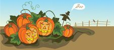 Free Halloween Illustration Royalty Free Stock Photos - 15923828