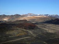 Free Volcanic Landscape In Iceland Royalty Free Stock Photos - 15923878